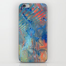 Abstract and Constructive expression iPhone Skin