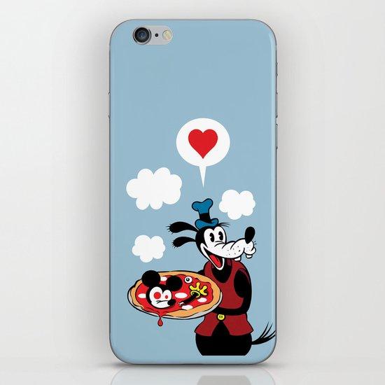 MICKEY'S PIZZA iPhone & iPod Skin