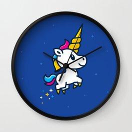 Unicorn Foal Wall Clock