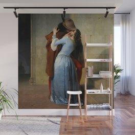 "Francesco Hayez ""The kiss"" Wall Mural"