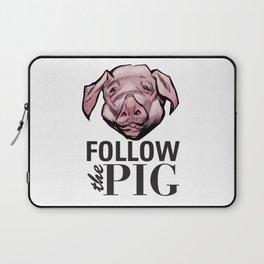 DSA - Follow the Pig Laptop Sleeve