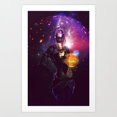 Tali'Zorah vas Normandy (Mass Effect) Art Art Print