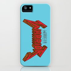 Warrior Not Worrier Slim Case iPhone (5, 5s)
