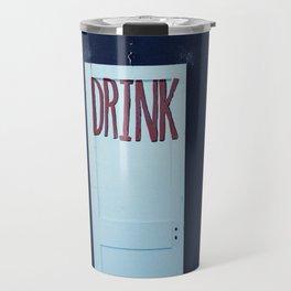 Eat Drink Be Honest Travel Mug
