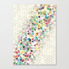 Cuben Split Canvas Print