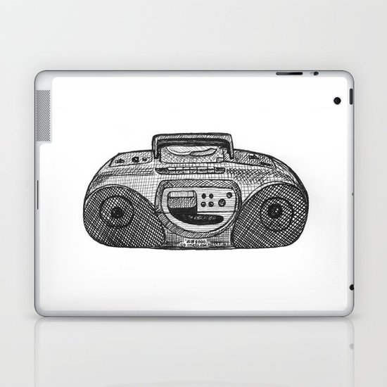 Radio Laptop & iPad Skin