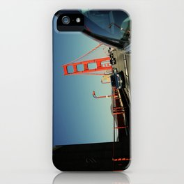 Golden Gate Bridge; Mid-Crossing. iPhone Case