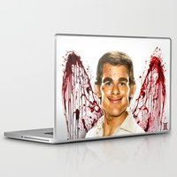 dexter Laptop & iPad Skins featuring Dexter by Giampaolo Casarini