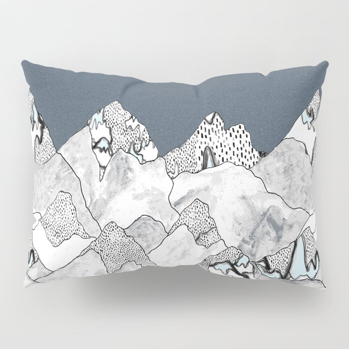 At night in the mountains Pillow Sham