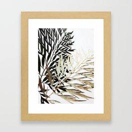 Three-Way Contrast #society6 #decor #buyart Framed Art Print