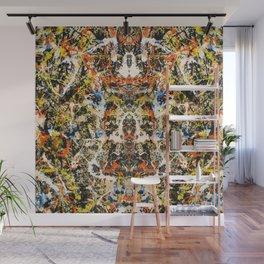Reflecting Pollock 2 Wall Mural