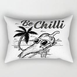 Be chill Rectangular Pillow