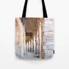 Roman Amphitheatre Arches in Arles. Tote Bag