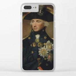 Admiral Horatio Nelson Clear iPhone Case