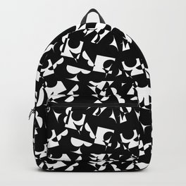 ABC Pattern Backpack