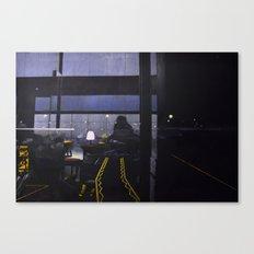 Candle-lit E Canvas Print