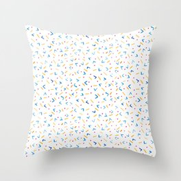 Dots and arrows  Throw Pillow