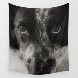 The Border Collie, a Profile Wall Tapestry
