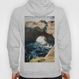 Devils Punchbowl on the Oregon Coast - Film Photograph Hoody