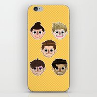 animal crossing iPhone & iPod Skins featuring Animal Crossing One Direction by Pinkeyyou