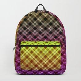 Ombre plaid #plaid #Ombre #gradient #gradientplaid Backpack