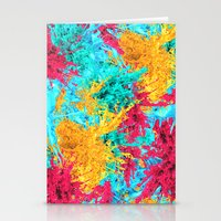 splash Stationery Cards featuring Splash! by Eleaxart
