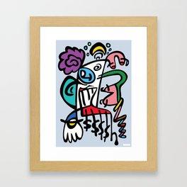 London, Innit Framed Art Print