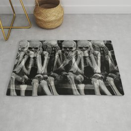 The Bench of Regrets Rug