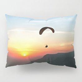 Sunset Paraglide Pillow Sham