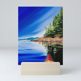To The Point Mini Art Print