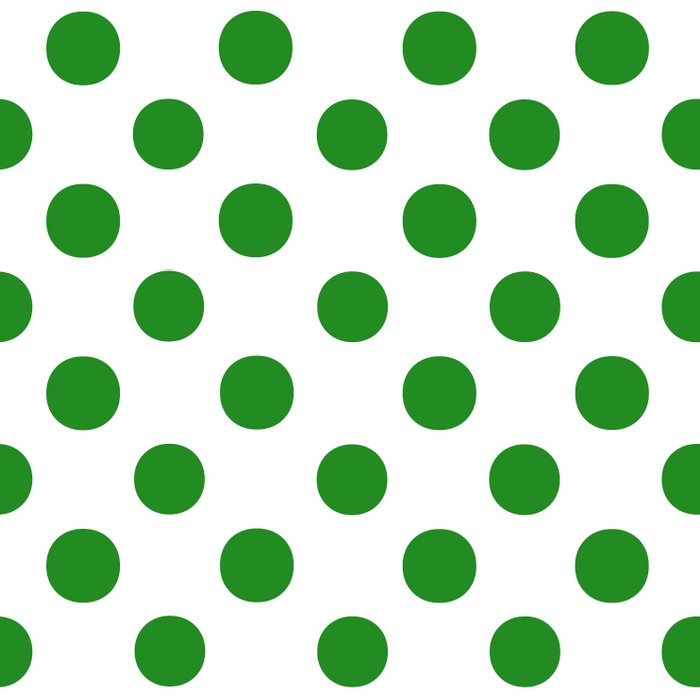 Polka Dots (Forest Green/White) Comforters