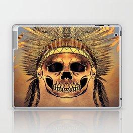 indian junga skull Laptop & iPad Skin