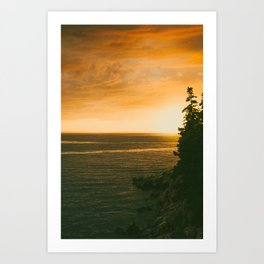 Atypical Sunset Art Print