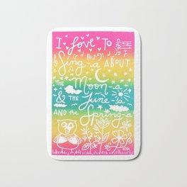 Love To Sing-A Bath Mat