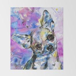 Chihuahua No. 1 Throw Blanket
