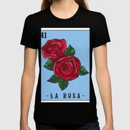 La Rosa Loteria Mexican Lottery Bingo print, La Rosa T-shirt