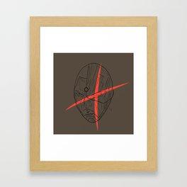 Cyborg 3 Framed Art Print