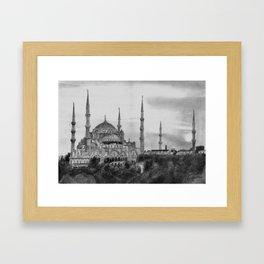 Hagia Sophia (Istanbul) Framed Art Print