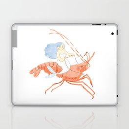 The Magnificent Shrimp Rider Laptop & iPad Skin
