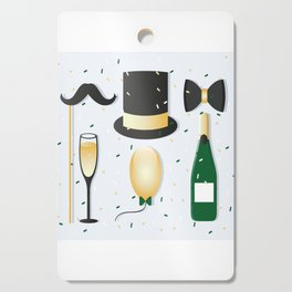 New Years Eve Party Cutting Board