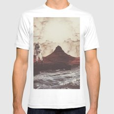 TERRAFORMING MARS White MEDIUM Mens Fitted Tee