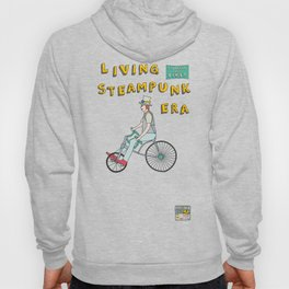 Steampunk Stovepipe Hat Biker Hoody