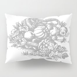toile tradition grey Pillow Sham