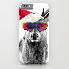 Christmas Deer Crazy Style iPhone 6s Slim Case