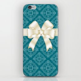 With ribbon iPhone Skin