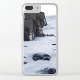 Foam off the Waves Clear iPhone Case