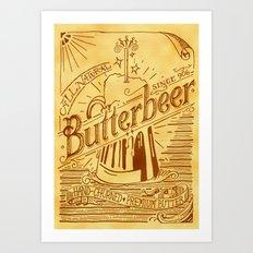 Butterbeer Art Print