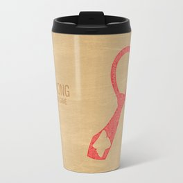 Donkey Kong Typography Travel Mug