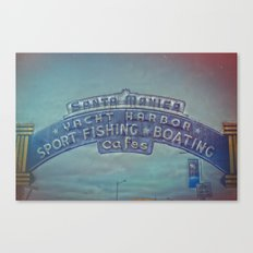Santa Monica Pier Canvas Print
