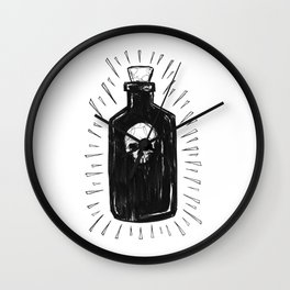 The Devil's Drink Wall Clock